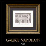 Court of Cassation - Paris - Ceiling - Architect M. Duc (France)
