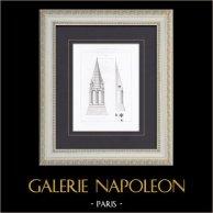 Dessins d'Architecte : Eglises de France