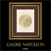 Grécia Antiga - Medalha - Aníbal - Cartago (Tunisia)
