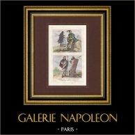 Gaule - Guerrier et Femme Francs - Guerriers Germains - Vème Siècle