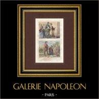 Portraits - Costume - XVème Siècle - Ralph Neville 1er comte de Westmorland - Jeanne Beaufort - Chasseur