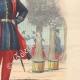DÉTAILS 05   Armée Française - Uniforme Militaire - Infanterie légère (1850)