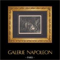 L'Enfer de Dante - Gustave Doré - Chapitre XXXVI - Les Suicides - Pierre Des Vignes