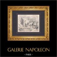 L'Enfer de Dante - Gustave Doré - Chapitre XLVI - Démons et Barattiers - Concussionnaires