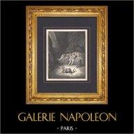 L'Enfer de Dante - Gustave Doré - Chapitre LIV - Métamorphoses