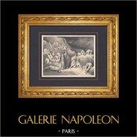 L'Enfer de Dante - Gustave Doré - Chapitre LVII - Auteurs de Discordes | Gravure sur bois originale dessinée par Gustave Doré. 1862