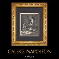 L'Enfer de Dante - Gustave Doré - Chapitre LVIII - Bertran de Born