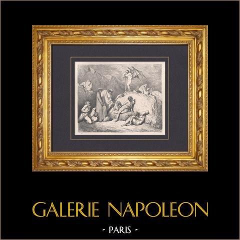 De Hel van Dante - Inferno - Gustave Doré - Hoofdstuk LXI - Other vervalsers |