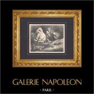 L'Enfer de Dante - Gustave Doré - Chapitre LXV - Éphialte