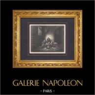 L'Enfer de Dante - Gustave Doré - Chapitre LXX - Ugolin