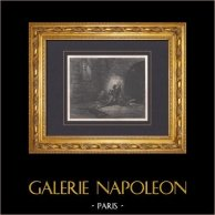 L'Enfer de Dante - Gustave Doré - Chapitre LXXI - Ugolin - Gaddo