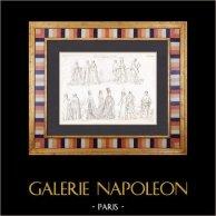 Frankreich - Kapetinger - XIV. Jahrhundert - Klerus - Prinzessin - Armee