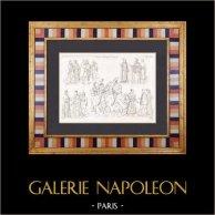 France - Capetians - XIVth Century - XVth Century - King - Nobility - Army