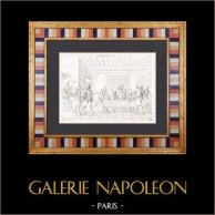 Trajes - Capetos - Siglo XIV (Francia)
