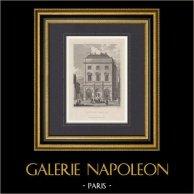 Monuments de Paris - Fontaine Gaillon (2e Arrondissement de Paris)