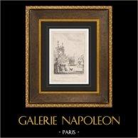 Theater - Comedy - Rosière de Salency - Charles-Simon Favart - XVIIIth Century