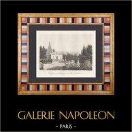 Vue du Cimetière du Père Lachaise à Paris (France)