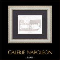 Architect's Drawing - Paris - House - Compagnie du chemin de fer de Paris à Orléans (Louis Renaud)