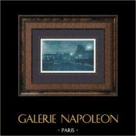 Paris by Night - Le Louvre - Tuileries Gardens