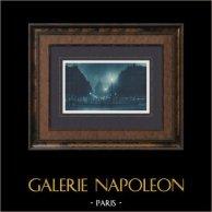 Paris by Night - Pantheon - Rue Soufflot
