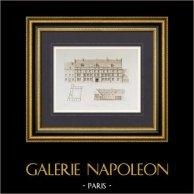 Palacio - Palais Granvelle en Besançon - Franco Condado - Doubs (Francia)