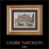 View of Paris - Paris Opéra - Opéra Garnier - Palais Garnier (France)