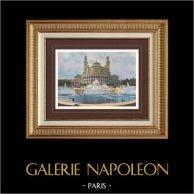 Vue de Paris - Palais du Trocadéro (France)