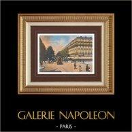 Vista de Paris - Les Grands Boulevards - Los Grandes Bulevares (Francia)