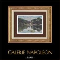 Palacio de Versalles - Château de Versailles - Pequeño Trianón - Petit Trianon - Aldea de la Reina - Lago (Francia)