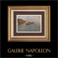Marine Française - Navire de guerre - Aviso Torpilleur - Port de Marseille (France)