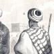 DÉTAILS 05 | Egypte 19ème Siècle - Costumes égyptiens : Bey, Scheick, Mameluck, Bédouin