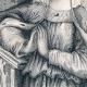 DÉTAILS 05 | Portrait en pied de Blanche de Castille - Reine de France (1188-1252)