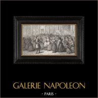 Franska Revolutionen : Uppror - Kvinna Mars till Versailles (1789)