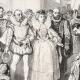 DÉTAILS 05   Visite de la Reine Elisabeth d'Angleterre au Chateau de Kenilworth en 1575 (Alfred and Tony Johannot)
