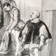 DÉTAILS 07   Visite de la Reine Elisabeth d'Angleterre au Chateau de Kenilworth en 1575 (Alfred and Tony Johannot)