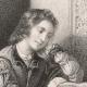 DÉTAILS 05 | Portrait de Luther enfant (Jacques Joseph Lecurieux)