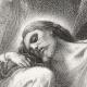 DÉTAILS 05   Scène biblique : L'agonie de Jésus au Jardin des Oliviers (Alexandre Cabanel)