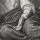 DÉTAILS 08   Scène biblique : L'agonie de Jésus au Jardin des Oliviers (Alexandre Cabanel)