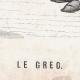 DÉTAILS 01   Scène de genre, Costume et Tradition du Monde : Le Grec (Grèce)