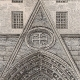 DETAILS 06 | History and Monuments of Paris - Door of the Church of the Holy Sepulchre (eglise du Saint Sepulchre)