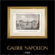 Histoire et Monuments de Paris - Eglise des Capucins de la Chaussée d'Antin