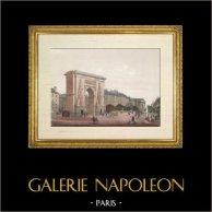 Historia y Monumentos de París - Puerta Saint Denis (Porte Saint Denis) |