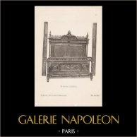 [11/56] - Antique french carved wooden furnitures and Antique Woodcarving by Gustave Gallerey - French Louis XII Bed