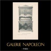 [19/56] - Móveis Artesanais em Madeira Esculpida e Esculturas em Madeiras de Gustave Gallerey - Buffet de Estilo Renascimento (ou Renascença)