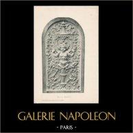 [43/56] - Französische Antike Möbel - Geschnitzte Hölzerne - Antikes Gravuren in Holz durch Gustave Gallerey - Möbelstil - Stil der Französischen Rena