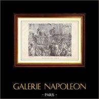 Storia e Monumenti di Parigi - Rivoluzione Francese - Charlotte Corday condotta al Supplice
