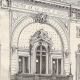 DETAILS 04 | History and Monuments of Paris - Theatre of the Porte Saint Martin (France)