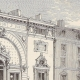 DETAILS 05 | History and Monuments of Paris - Theatre of the Porte Saint Martin (France)
