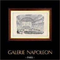 Geschichte und Denkmäler von Paris - Eine Sitzung in der Akademie von Musik