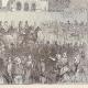 DÉTAILS 03 | Révolution Française - Retour de la Famille Royale à Paris après son Arrestation à Varennes (25 Juin 1791)